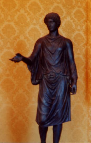 the bronze statue of camillus